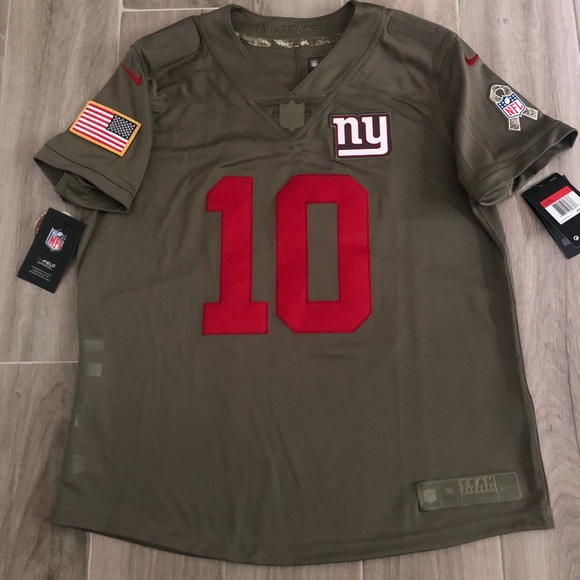 finest selection 9305f 11ffa NIKE NY Giants Manning Salute to Service Large NWT